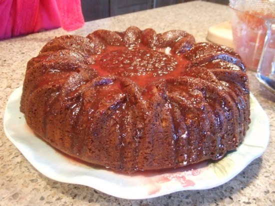 Duncan Hines Orange Pecan Cake recipe